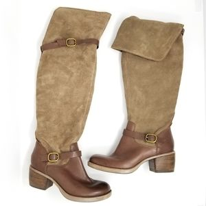 Lucky Brand Over The Knee 'Roller' Leather Boots 6
